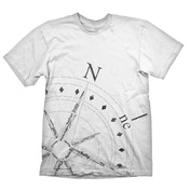Uncharted 4: A Thief's End Compass XX-Large T-Shirt
