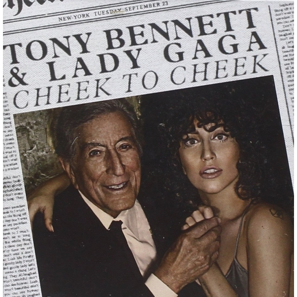 Tony Bennett & Lady Gaga - Cheek to Cheek CD