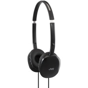 JVC HA-S160-B-E FLATS Lightweight Headphones Black