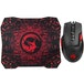 Marvo Scorpion M355 USB 7 Colour LED Black Gaming Mouse with G1 Small Gaming Mouse Pad Gaming Combo - Image 2