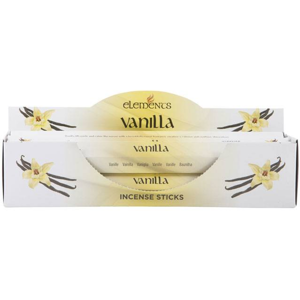 6 Packs of Elements Vanilla Incense Sticks