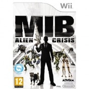 Men in Black 3 III MIB Alien Crisis Game Wii