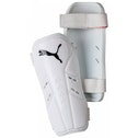Puma Pro Training II Slip In Guards Small White/Black
