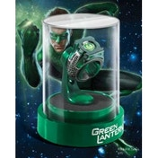 DC Green Lantern Prop Ring and Display