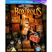 The Boxtrolls 3D + 2D Blu-ray & UV Copy