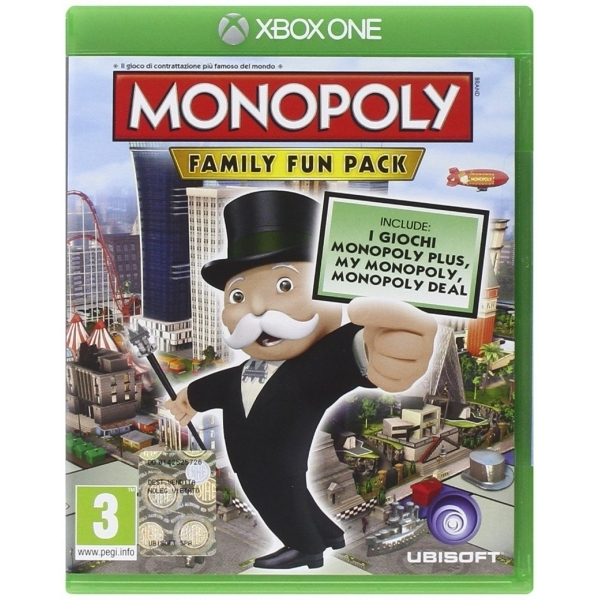 Hasbro Monopoly Family Fun Pack Xbox One Game