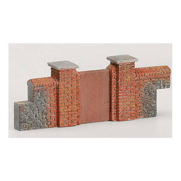 Hornby Brick Walling (Gates & Piers) Model