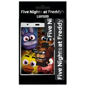 Five Nights at Freddys Fazbear Lanyard