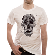 Rampage - Skull Men's Medium T-Shirt - White