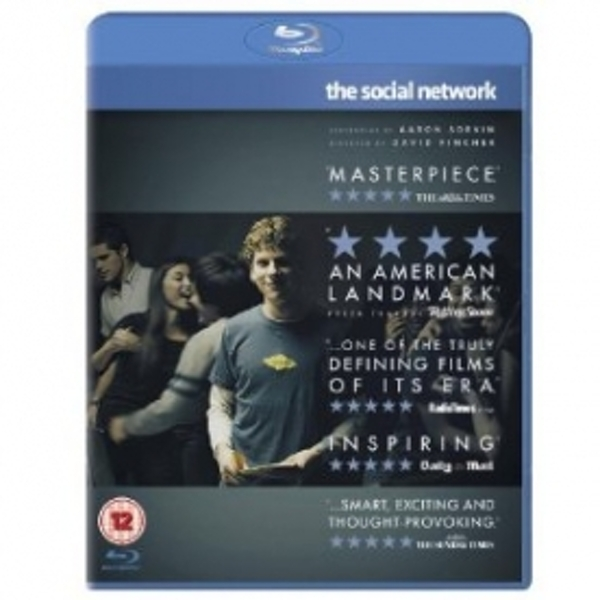 The Social Network 2011 Blu-Ray