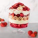 Footed Glass Trifle Bowl | M&W - Image 2