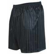 Precision Striped Continental Football Shorts 18-20 Black
