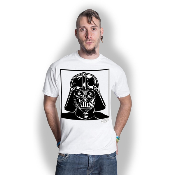 Star Wars - Vadar 1. Unisex XX-Large T-Shirt - White