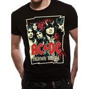 AC/DC - Cartoon Men's Small T-Shirt - Black