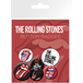 The Rolling Stones  Lips Badge Pack - Image 2