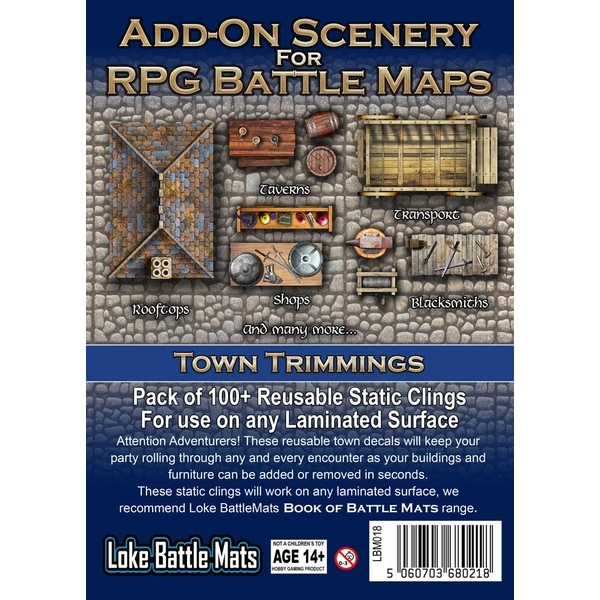 Add-On Scenery: Town Trimmings