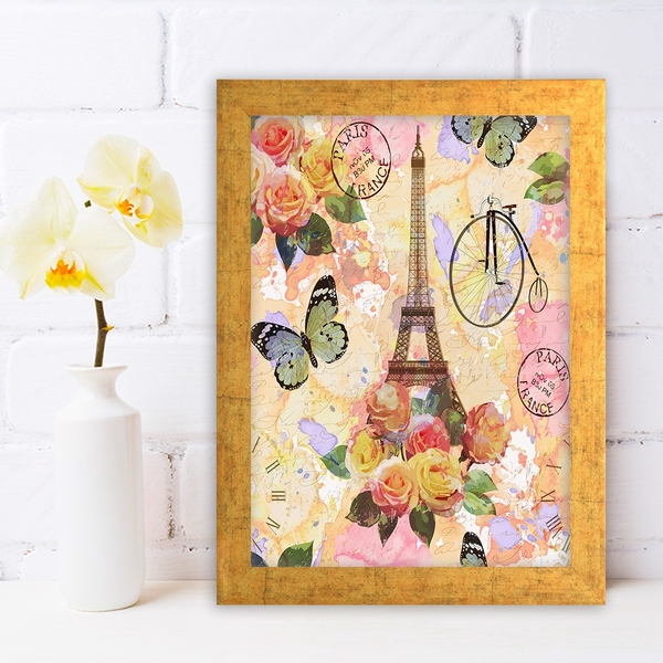 AC624367715 Multicolor Decorative Framed MDF Painting