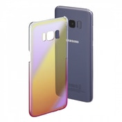 Hama Mirror Cover for Samsung Galaxy S8, Yellow/Pink
