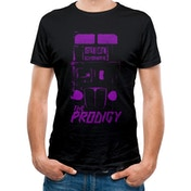 The Prodigy - Purple Bus Men's Large T-shirt - Black