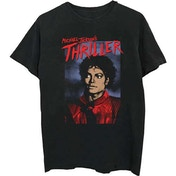 Michael Jackson - Thriller Pose Men's Large T-Shirt - Black