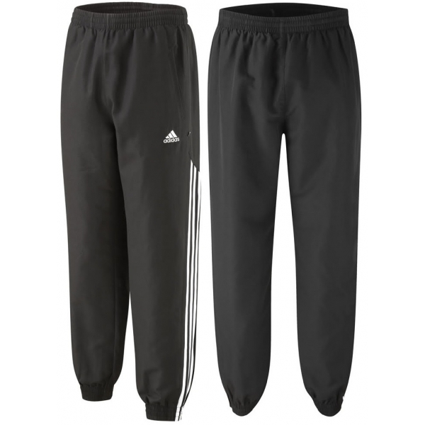 fa23574200c5 Hey! Stay with us... Adidas Stinger Woven Tracksuit Bottoms Jog Pants  Womens Black Small