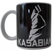 Kasabian Ultraface Black Boxed Mug