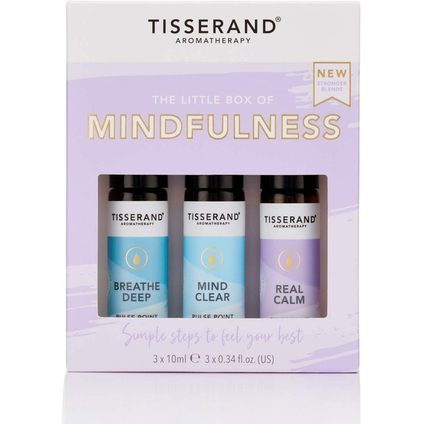 Tisserand Aromatherapy Little Box Of Mindfulness Roller Ball Kit (3x10ml)