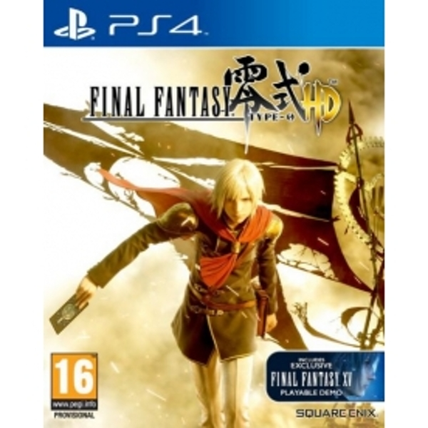 Final Fantasy Type-0 HD PS4 Game (Includes FFXV Demo)