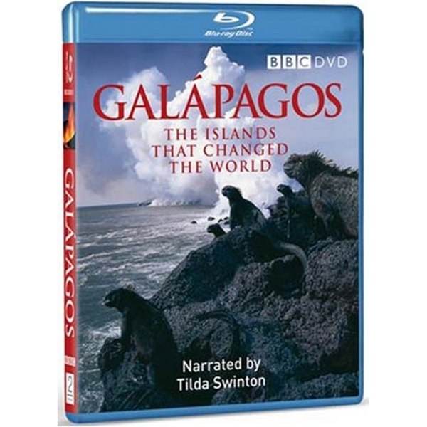 Galapagos - The Islands That Changed The World Blu-Ray