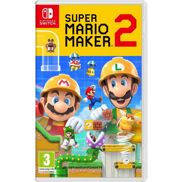 Super Mario Maker 2 Nintendo Switch Game - Image 1