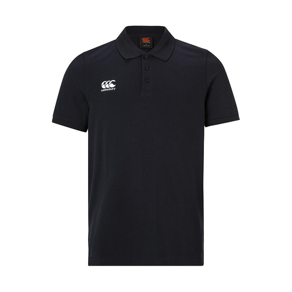 Canterbury Waimak Polo Shirt Black - Small