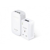 TP-LINK TL-WPA4530 KIT AC Wi-Fi Powerline Range Extender/Wi-Fi Booster/Hotspot with AC Pass Through UK Plug