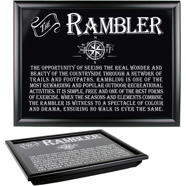 Ultimate Gift for Man Lap Trays Rambler