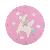 Sass & Belle Rainbow Unicorn Wall Clock