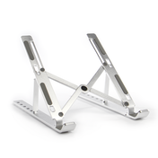 Portable Laptop & Tablet Stand | Pukkr Silver