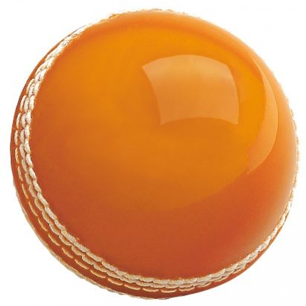Quick-Tech Cricket Ball Senior Orange