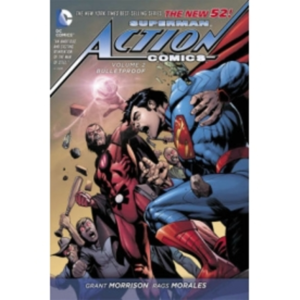 Superman Action Comics Volume 2: Bulletproof HC (The New 52)