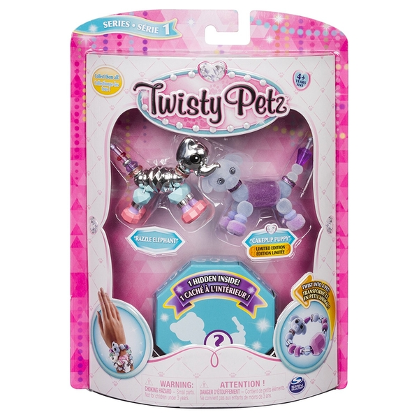 Twisty Petz Dazzling Bracelets (3 Pack Set)