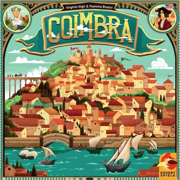 Ex-Display Coimbra Board Game Used - Like New