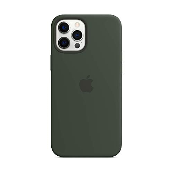 Apple Silicone Case with MagSafe (for iPhone 12 Pro Max) - Cyprus Green