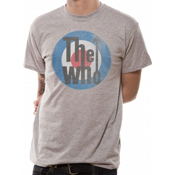 The Who - Target Men's XX-Large T-Shirt - Grey