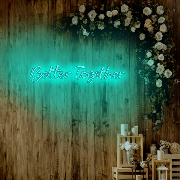 Better Together - Blue Blue Wall Lamp