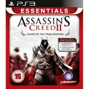 Assassin's Creed II 2 Game Of The Year Essentials PS3 Game