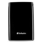 Verbatim Store 'n' Go USB 2.0 Portable Hard Drive 500GB Black - 53008