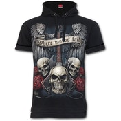 Unspoken Fine Cotton Hoodie Men's Medium T-Shirt - Black