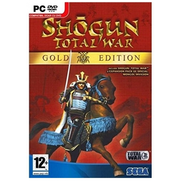 Total War Shogun Gold Edition Game PC