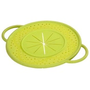 Xavax Boil Over Safeguard, made of silicone, round, 21 cm, green