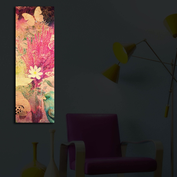 3090?ACT-29 Multicolor Decorative Led Lighted Canvas Painting
