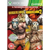 Borderlands 1 and 2 Collection (Classics) Game Xbox 360