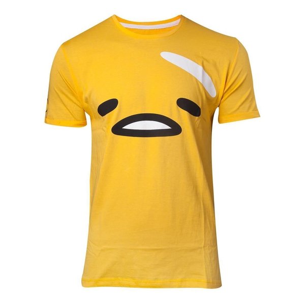Gudetama - The Face Men's Small T-Shirt - Yellow